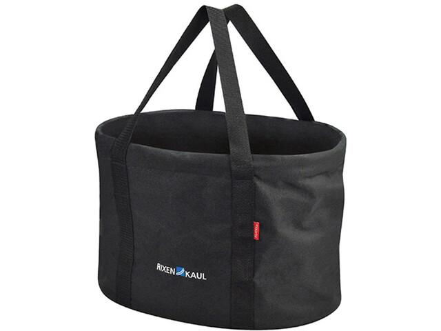 KlickFix Shopper Handlebar Bag black